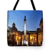 Trajan's Column Tote Bag