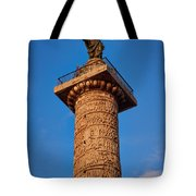 Trajans Column Tote Bag