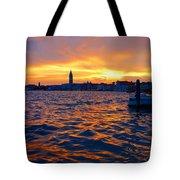 Tramonto Veneziano Tote Bag