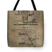 Tramway Fender Patent Tote Bag