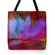 Trancendent Lotus Tote Bag
