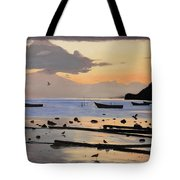 Tranquil Dawn Tote Bag