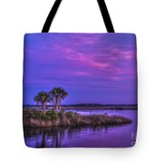 Tranquil Palms Tote Bag
