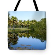 Tranquil Pond Tote Bag