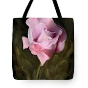 Tranquil Rose Tote Bag