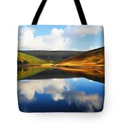 Tranquility Tote Bag by Ayse Deniz