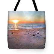Tranquility Beach Tote Bag by Betsy Knapp
