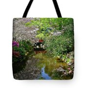 Tranquility Garden Tote Bag