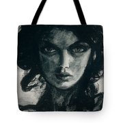 Portait Of Beatcee May Tote Bag