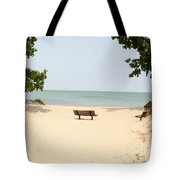 Tranquility Painterly Tote Bag