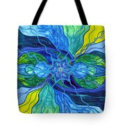 Tranquility Tote Bag by Teal Eye  Print Store