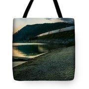Trans Siberian Sunset Tote Bag