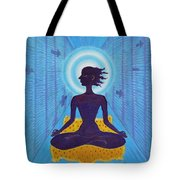 Transcendental Meditation Tote Bag