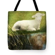 Transformation Lamb Or Lion Tote Bag