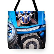 Transformer Man Mime Tote Bag