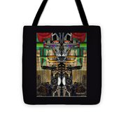 Transformers Transition Hcc Sw Parking Lot  Tote Bag