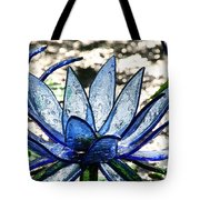 Translucent Blues Tote Bag