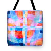 Translucent Quilt Tote Bag