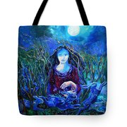 Eostra Holds The Moon Tote Bag