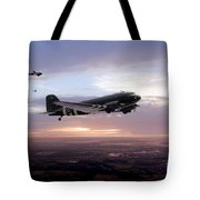Transport Command  Tote Bag