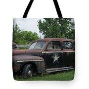 Transportation - Classic - Highway Patrol Tote Bag