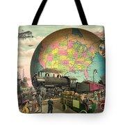 Transportation Tote Bag by Gary Grayson
