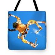 Trapeze Spider Tote Bag by Christina Rollo