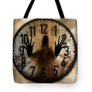 Trapped In Time Tote Bag