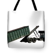 Trash Truck Tote Bag by Olivier Le Queinec