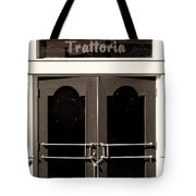 Trattoria Door Palm Springs Tote Bag