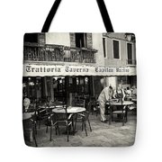 Trattoria In Venice  Tote Bag by Madeline Ellis