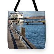 Travel Into Past Tote Bag