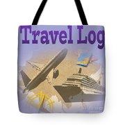 Travel Log Tote Bag