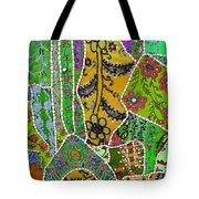 Travel Shopping Colorful Tapestry 8 India Rajasthan Tote Bag
