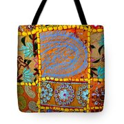 Travel Shopping Colorful Tapestry 9 India Rajasthan Tote Bag