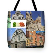 Travel To Venice  Tote Bag