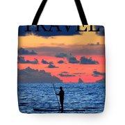 Travel Work One Tote Bag