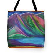Travelers Mountains By Jrr Tote Bag
