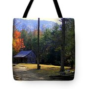 Traveling Back In Time Tote Bag