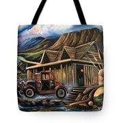 Traveling Car Tote Bag