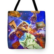 Traveling Light Tote Bag