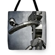 Traveling Man Tote Bag by Joan Carroll
