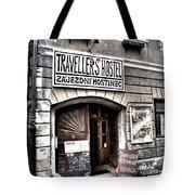 Travellers Hostel - Cesky Krumlov Tote Bag