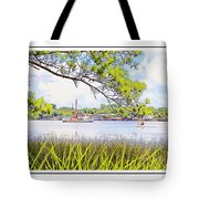 Trawler Waterscape Tote Bag
