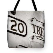 Tre 120 Tote Bag by Joan Carroll