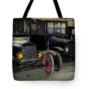 Treads Of Time Tote Bag