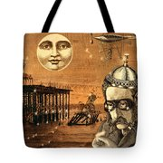 Treasure Steampunk Tote Bag
