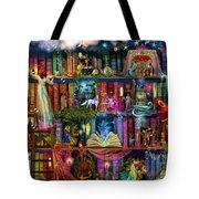 Fairytale Treasure Hunt Book Shelf Tote Bag