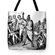 Treaty With Iroquois Indians Five Tote Bag
