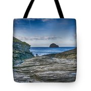 Trebarwith Strand Cornwall Tote Bag